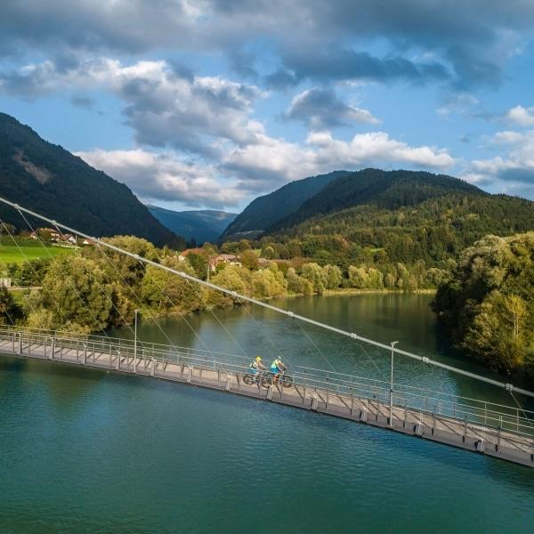 Radbrücke Puch Weissenstein © Österreich Werbung / Sam Strauss