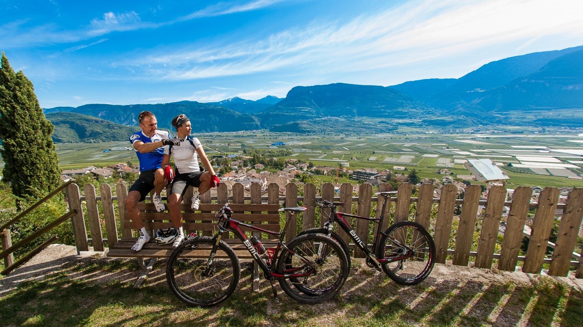 Bike Tramin Dorf © TVTramin Antie Braito