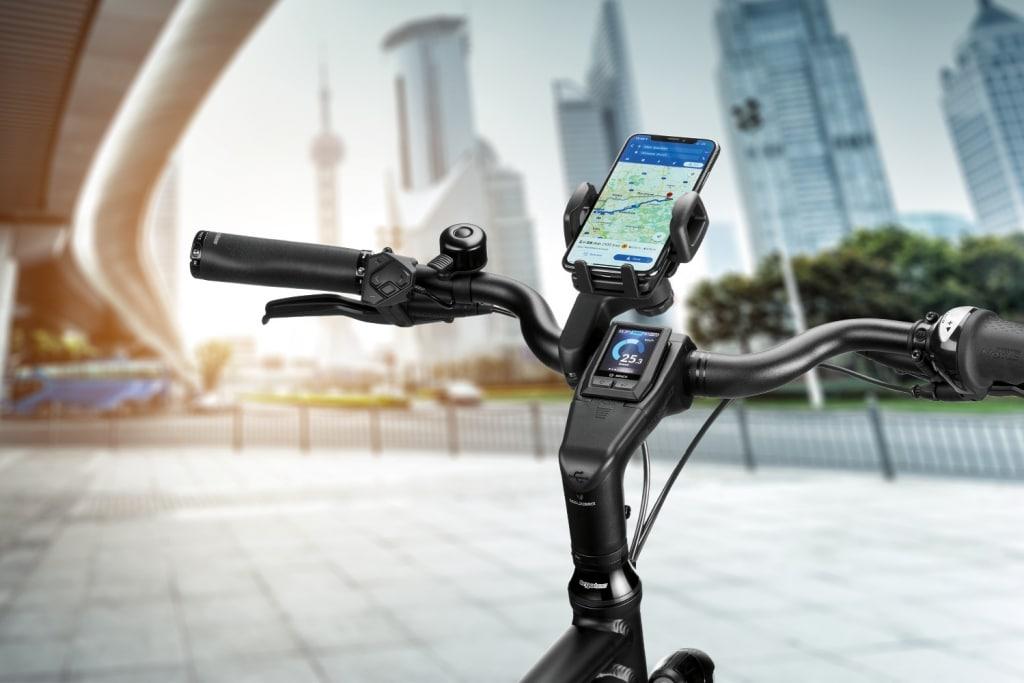 Lenksystem mit Handyhalterung © ergotec