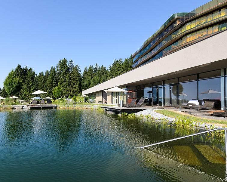 Hotel AVIVA - Schwimmteich © Hotel AVIVA