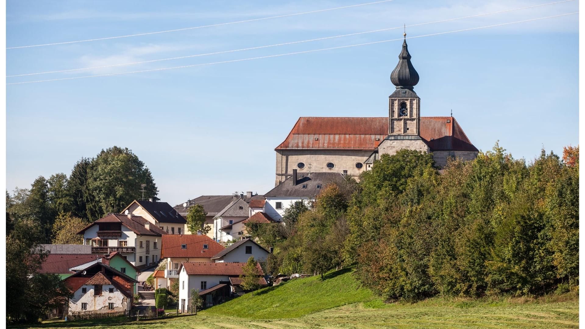 Kirche Adlwang © Horst Bachofner