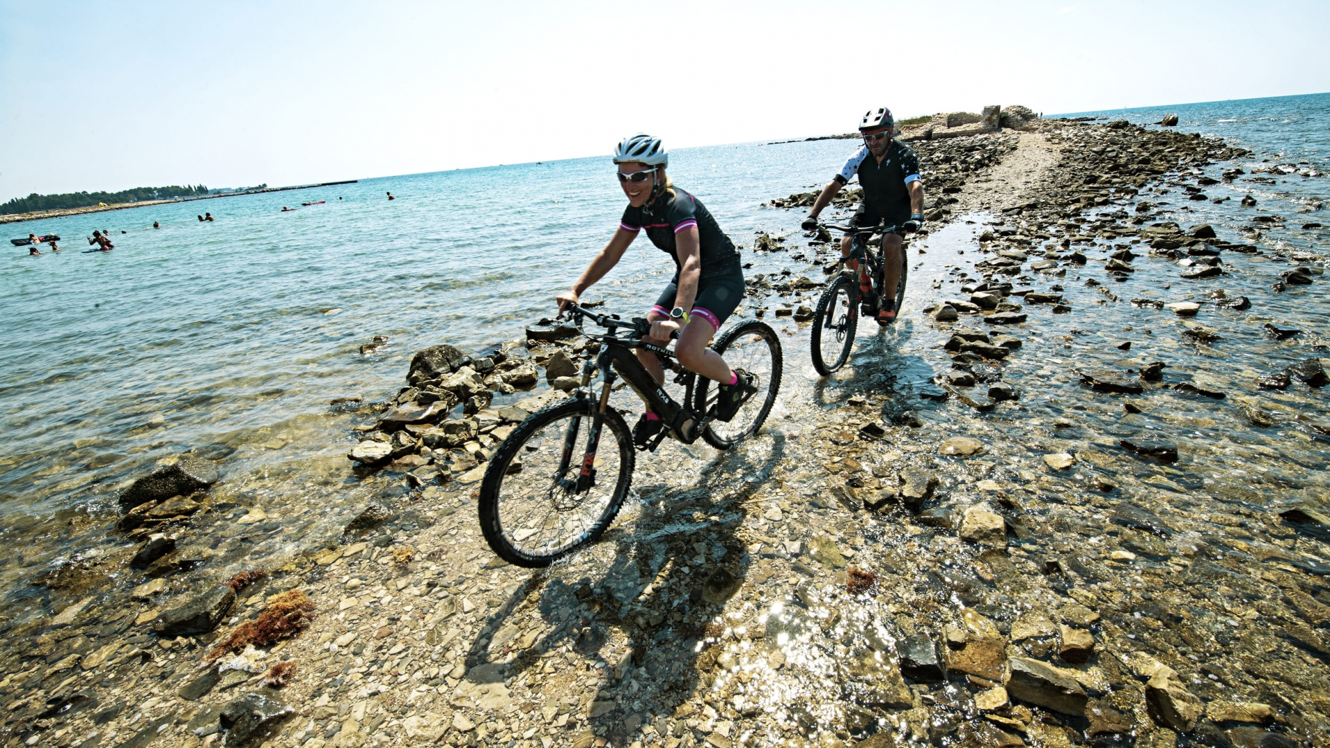 Istrien Biketour am Meer