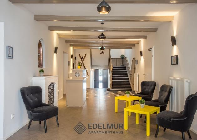 Eingangsbereich © Edelmur Apartmenthaus