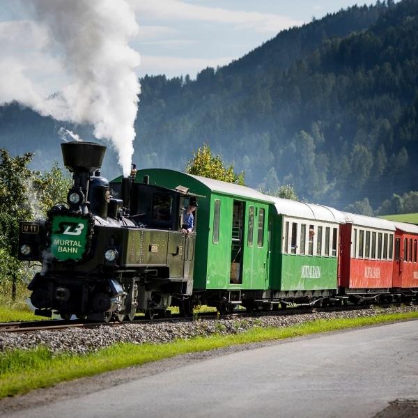 Murtalbahn Dampfzug © Tom Lamm | ikarus.cc
