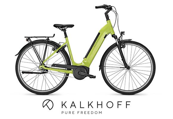Kalkhoff Agattu 3.B Move in grün