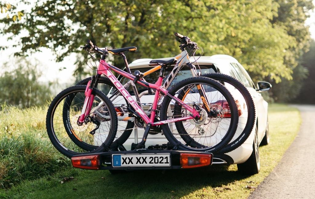Kennzeichen-Fahrradträger © Westfalia