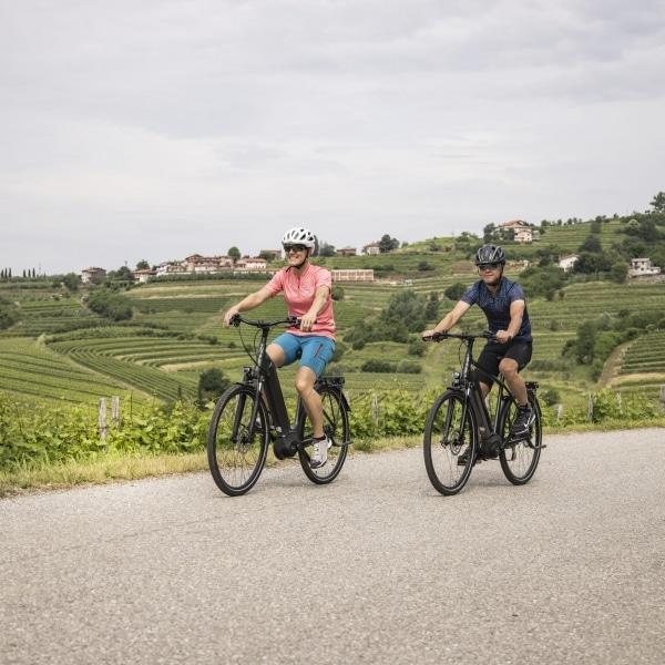 Radfahren in Brda © Velontour